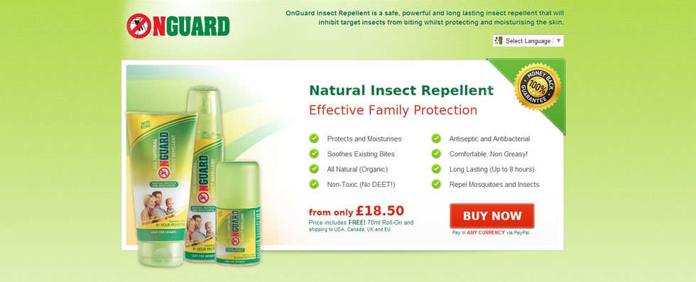 OnGuard Insect Repellent